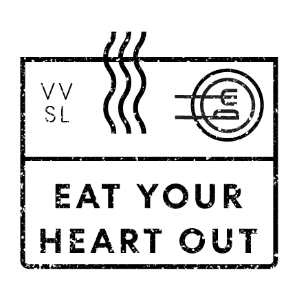 Eat your heart out stamp
