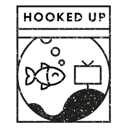 Hooked up stamp